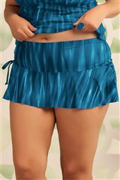 Shirred Skirted Hipster Bottom