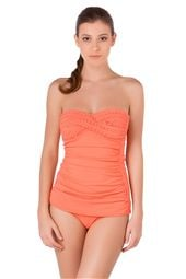 Molded Bandeau Tankini Top